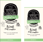 Royal Green Bone Food complex 100% plantaardige calcium & magnesium, 120 tabletten