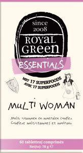 Royal Green Multi woman, 60 tabletten