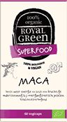 Royal Green, Maca 100% gecertificeerd biologisch vegan