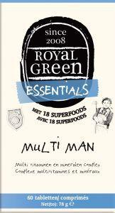 Royal Green Multi man, 120 tabletten
