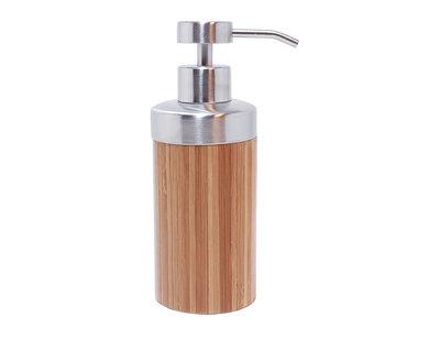 Bamboe zeep pompje