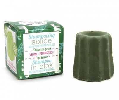 Lamazuna Shampoo Blok Vet haar- wild gras