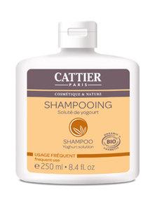 Cattier shampoo dagelijks gebruik yoghurt